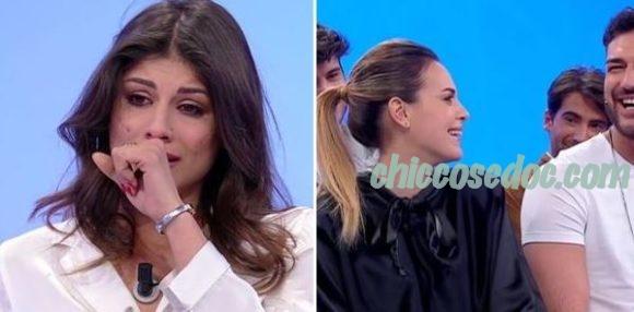 U&D - Giulia Cavaglia ritrova in studio Lorenzo Riccardi, accompagnato dalla fidanzata Claudia Dionigi..