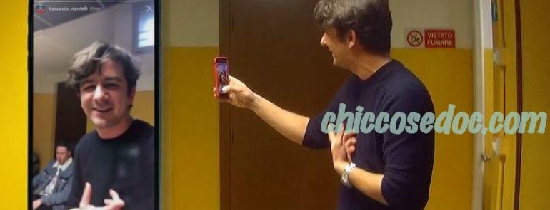 """""""LE IENE"""" - L'esperimento social orchestrato ai danni di Francesco Mandelli con la complicità di Shade, che aveva sollevato l'indignazione del web.."""