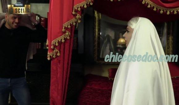 """""""SPECIALE U&D - LA SCELTA"""" - Luigi Mastroianni con il fantasma di Tina Cipollari.."""