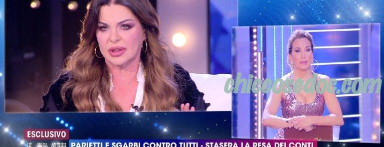 """""""LIVE - NON E' LA D'URSO"""" - Alba Parietti vs Barbara d'Urso"""