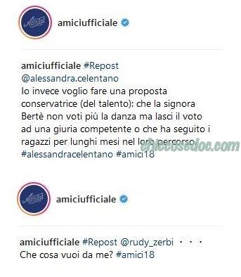"""AMICI 18"" - Alessandra Celentano, Rudy Zerbi"