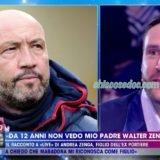 """""""LIVE – NON E' LA D'URSO"""": ANDREA ZENGA, EX FIDANZATO DI """"TEMPTATION ISLAND VIP"""", SULLA PROTRATTA LONTANANZA DAL PADRE WALTER.. """"NON SONO VENUTO AD ACCUSARE NESSUNO (..) NON MI PUò MANCARE UNA COSA CHE NON HO MAI AVUTO (..) SE SENTISSI LA NECESSITA' DI AVVICINARMI LO CHIAMEREI, NON LO DIREI QUI IN TELEVISIONE"""""""