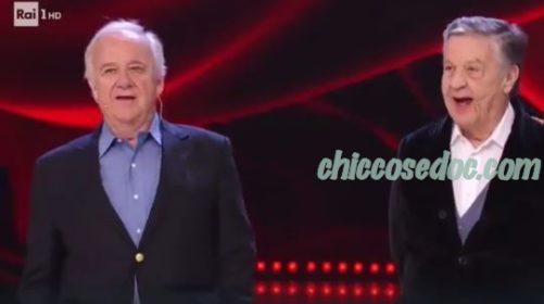"""""""BALLANDO CON LE STELLE 14"""" - Cochi Ponzoni e Renato Pozzetto """"ballerini per una notte"""" della quinta puntata.."""