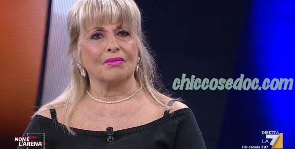 """Gabriella Corona, mamma di Fabrizio, ospite a """"NON E' L'ARENA"""".."""