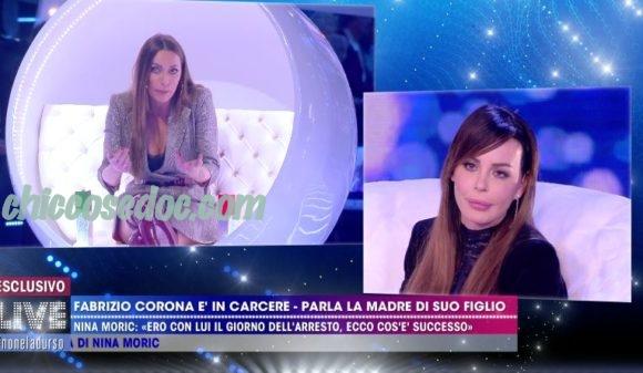 """LIVE - NON E' LA D'URSO"" - Nina Moric vs Karina Cascella"