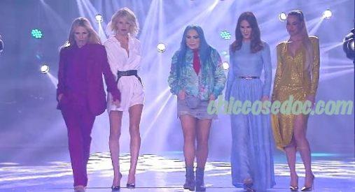 """""""AMICI 18"""" - Michelle Hunziker, Alessia Marcuzzi, Loredana Bertè, Silvia Toffanin ed Ilary Blasi nella giuria speciale.."""