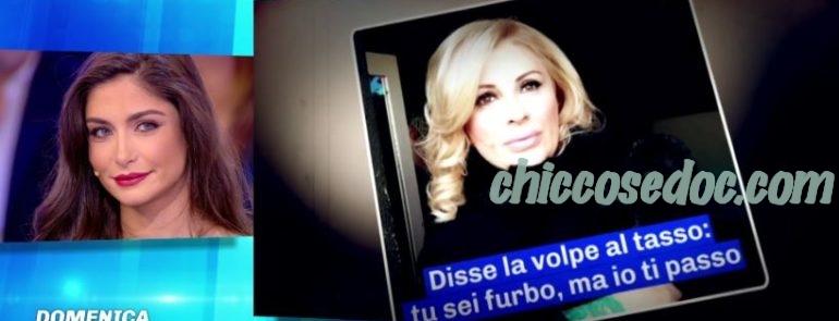 """""""GF 16"""" - A """"Domenica Live"""", Ambra Lombardo chiede un ulteriore incontro con Chicco Nalli.."""