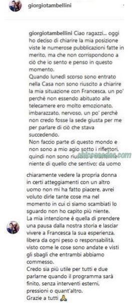 """""""GF 16"""" - Giorgio Tambellini"""