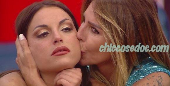 """""""GF 16"""" - Guendalina Canessa sul rapporto recuperato con l'ex rivale Francesca De Andrè.."""