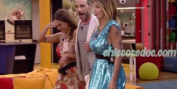 """""""GF 16"""" - Daniele Interrante, Francesca De Andrè e Guendalina Canessa. E la stoccata restituita a Melissa Satta.."""