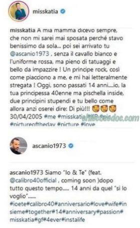 """GF 4"" - Katia Pedrotti, Ascanio Pacelli"