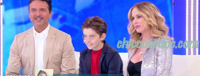 """""""DOMENICA LIVE"""" - Stefano Orfei Nones e la moglie BRigitta Boccoli, con il primo figlio Manfredi, confermano l'imminente arrivo del loro secondogenito.."""