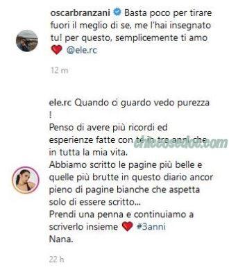 Oscar Branzani, Eleonora Rocchini