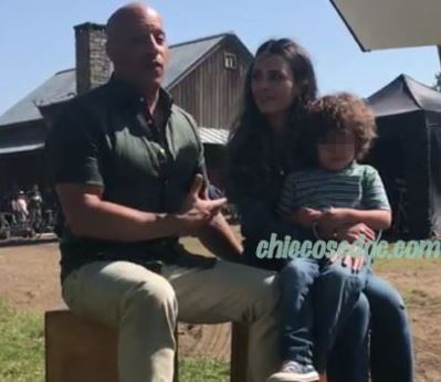 """""""FAST 9"""" - Vin Diesel e Jordana Brewster sul set per le riprese del nono capitolo della saga sulla velocità.."""
