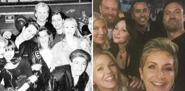 """""""BEVERLY HILLS 90210"""" - Ian Ziering e la dedica ai colleghi di set.."""