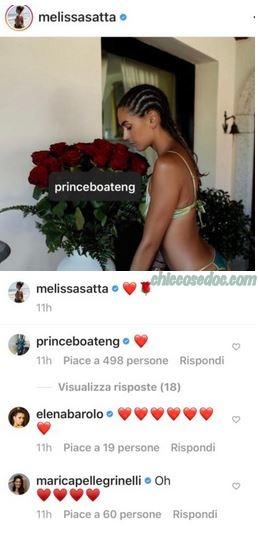 Melissa Satta, Kevin Prince Boateng