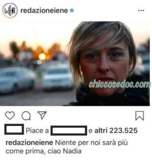 """""""LE IENE"""" - Il doloroso addio alla conduttrice Nadia Toffa"""