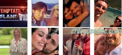 """""""TEMPTATION ISLAND VIP 2"""" - Alessia Marcuzzi ufficializza le 6 coppie che faranno parte del cast.."""