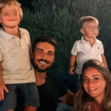 MARIANO DI VAIO E LA MOGLIE ELEONORA BRUNACCI HANNO ANNUNCIATO L'ARRIVO IN FAMIGLIA DEL LORO TERZO BEBE'..