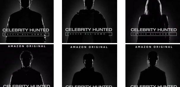 """""""LE CHICCHE DI GOSSIP"""" - Il cast completo di fuggitivi in gara a """"Celebrity Hunted"""".."""