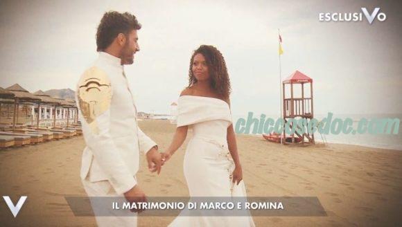 """""""VERISSIMO"""" - Le raccontate nozze di Marco Maddaloni, vincitore dell'""""Isola dei Famosi 14"""", e Romina Giamminelli.."""