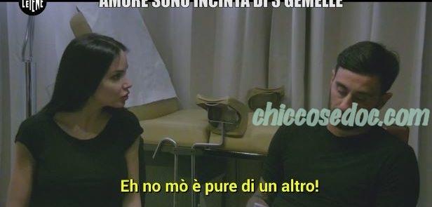 """""""LE IENE"""" - Lo scherzo ad Alberto Aquilani, con la moglie Michela Quattrociocche dal ginecologo per.."""