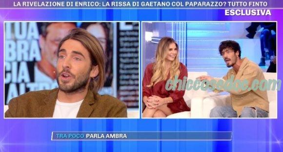 """""""GF 16"""" - Gaetano Arena, sul divanetto di """"Pomeriggio 5"""", a confronto con gli ex compagni di reality.."""