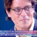 """A """"LIVE – NON E' LA D'URSO"""" GABRIEL GARKO SI E' RACCONTATO, PARLANDO DEL SUO LIBRO.. """"ANDATA E RITORNO"""""""