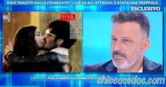 """""""GF 16"""" - Kikò Nalli difende a """"Domenica Live"""" l'ex coinquilina Ambra Lombardo, certo della trama costruita ai loro danni"""