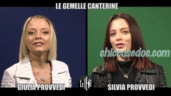 """""""LE IENE"""" - L'intervista doppia alle gemelle ed ex gieffine """"vip"""" Silvia e Giulia Provvedi, le """"Donatella"""".."""