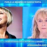 """""""DOMENICA LIVE"""": MARGHERITA, LA MAMMA DI NADIA TOFFA, IN STUDIO.. """"FINO ALL'ULTIMO GIORNO LEI HA SORRISO"""""""