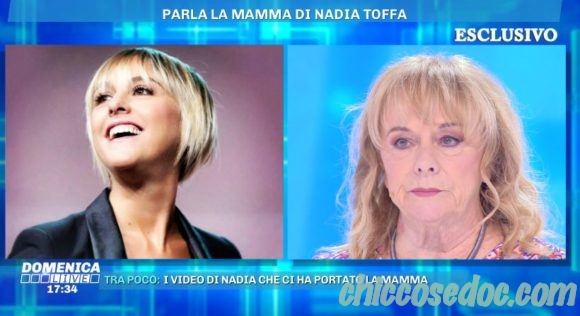 """""""DOMENICA LIVE"""" - Margherita, la mamma di Nadia Toffa, ospite.."""