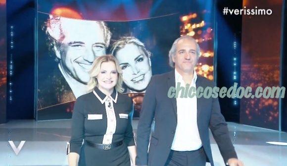 """VERISSIMO"" - Simona Ventura e Giovanni Terzi ospiti"