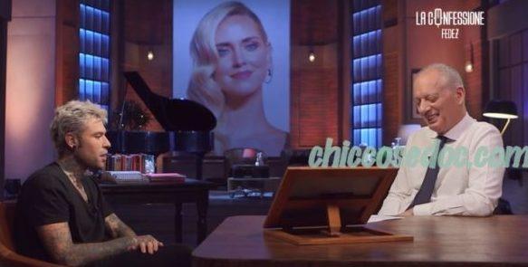 """Fedez, intervistato da Peter Gomez nel programma """"La Confessione""""..l"""
