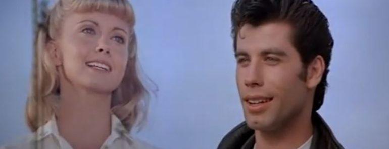"""GREASE"" - John Travolta ed Olivia Newton-John"