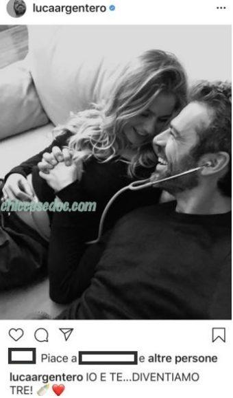 Luca Argentero svela la dolce attesa della compagna, e sua futura sposa, Cristina Marino..