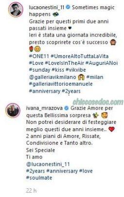 """""""GRANDE FRATELLO VIP 2"""" - Luca Onestini, Ivana Mrazova"""