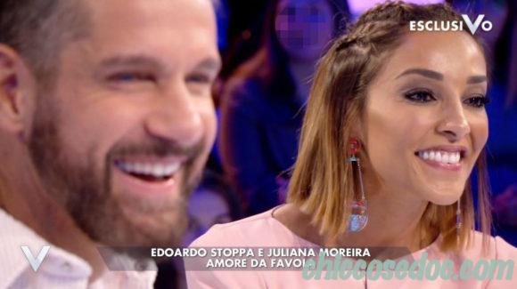 """VERISSIMO"" - La coppia Edoardo Stoppa e Juliana Moreira ospite"