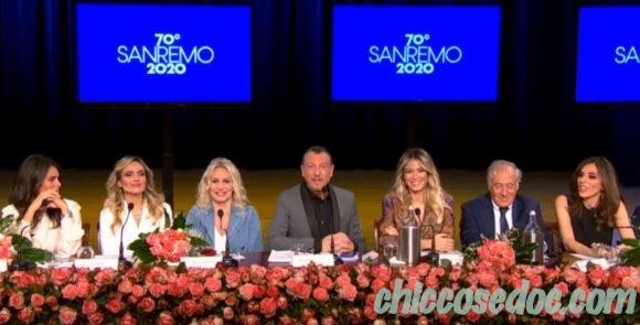 """""""SANREMO 2020"""" - La conferenza stampa di presentazione con Amadeus.."""