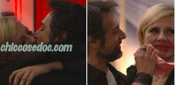 """""""GRANDE FRATELLO VIP 4"""" - Antonella Elia e il fidanzato Pietro Delle Piane.."""