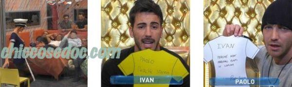 """""""GRANDE FRATELLO VIP 4"""" - Paola Di Benedetto, Paolo Ciavarro vs Ivan Gonzalez"""