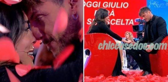 U&D - La scelta di Giulio Raselli è Giulia D'Urso..