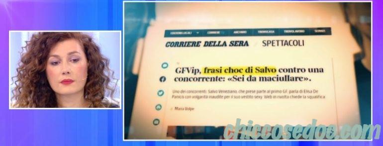 """""""GRANDE FRATELLO VIP 4"""" - A """"Pomeriggio 5"""" Barbara d'Urso annuncia un provvedimento in arrivo contro Salvo Veneziano, difeso dalla moglie Giusy.."""