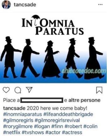 """""""GILMORE GIRLS"""" - Nuovo indizio social su una possibile ripresa del revival?"""