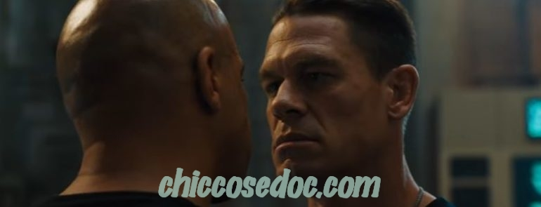 """FAST & FURIOUS 9"" - John Cena e Vin Diesel"