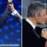 """""""SANREMO 2020"""": LEO GASSMANN SI IMPONE FRA LE """"NUOVE PROPOSTE"""". FIORELLO E TIZIANO FERRO CHIUDONO LA POLEMICA CON UN BACIO A FIOR DI LABBRA, SULLE NOTE DI """"FINALMENTE TU"""".. MORGAN E BUGO FUORI DALLA GARA, DOPO L'INTERROTTA ESIBIZIONE.."""