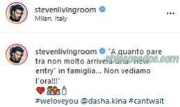 """""""GRANDE FRATELLO VIP 3"""" - Stefano Sala in attesa di un figlio dalla moglie Dasha Dereviankina.."""