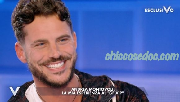 """""""GRANDE FRATELLO VIP 4"""" - Andrea Montovoli ospite a """"Verissimo"""".."""