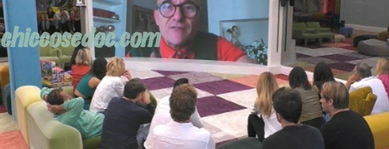 """""""GRANDE FRATELLO VIP 4"""" - La reazione di sollievo al comunicato di anticipata chiusura del reality.."""