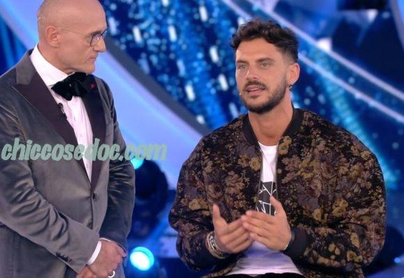 """""""GRANDE FRATELLO VIP 4"""" - Andrea Montovoli in studio.."""